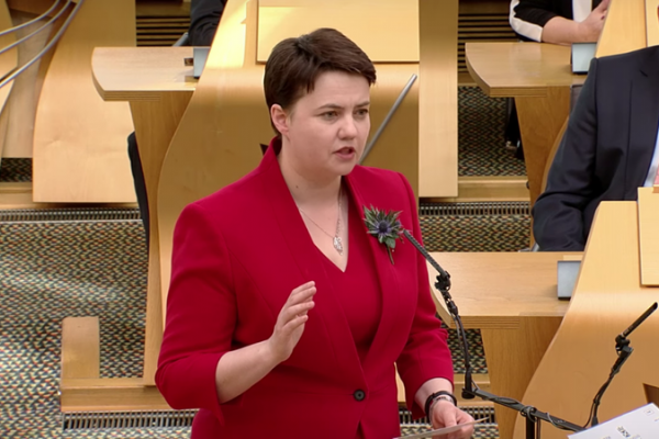 Ruth Davidson leader of the Scottish Conservatives