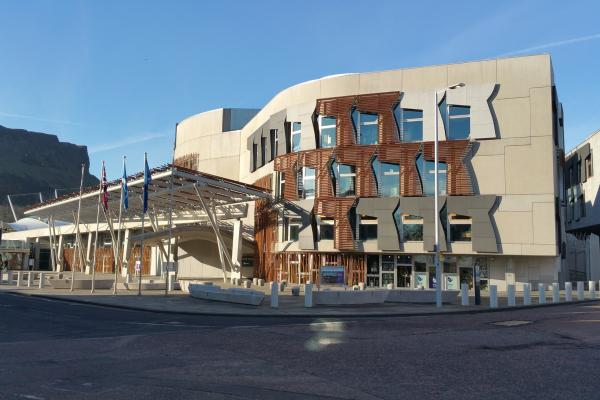 Photo of the Scottish Parliament
