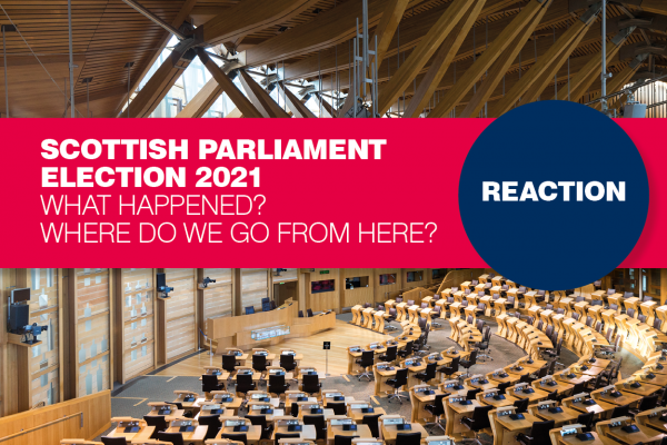 Scottish Parliament election reaction