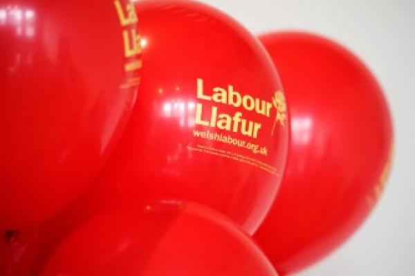 Welsh Labour Baloons